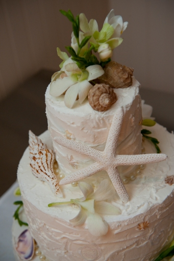 My Wedding cake created by me and two of my Brides Angels
